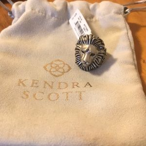 Kendra Scott lion ring